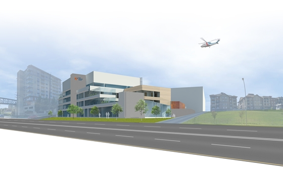 RCH_Perspective Rendering of MHUS building 560